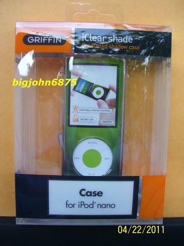 griffin iclear case shade 4th generation apple ipod nano. Black Bedroom Furniture Sets. Home Design Ideas