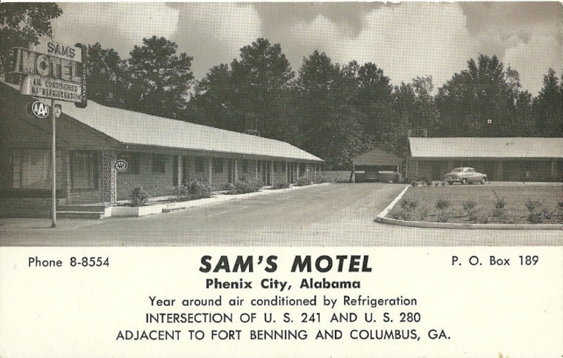 Motel  Phenix City Alabama