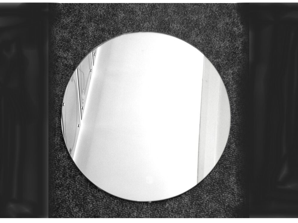 round wall mirror self adhesive many various sizes made in our u k factory ebay. Black Bedroom Furniture Sets. Home Design Ideas