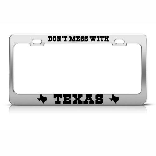 Get a Ticket for Your License Plate Frames and Covers?