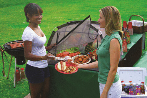 Dura Tent R The Tabletop Food Screen Quot Picnic Style Quot Ebay