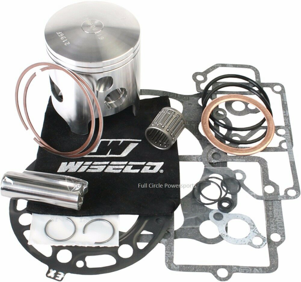 Motorcycle Engine Parts Std Cylinder Bore Size 66 4mm: Wiseco Top End Piston Gaskets Rebuild Kit 93-01 Kawasaki