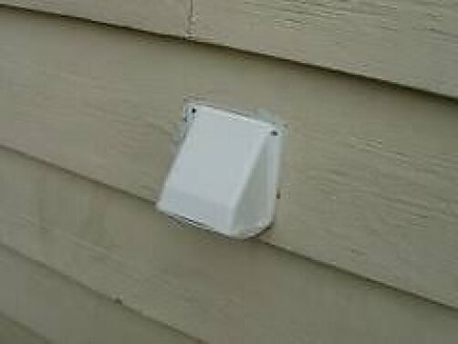 Tumble Dryer Outside Wall Vent Hose Venting Cover 100mm Ebay