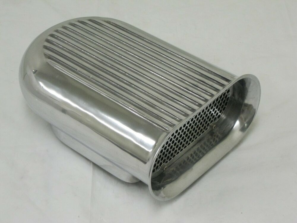 Small Air Cleaners : Aluminum hood scoop air cleaner carb quot barrel ebay