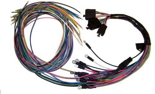 american autowire gauge cluster wiring harness 510150 ebay. Black Bedroom Furniture Sets. Home Design Ideas