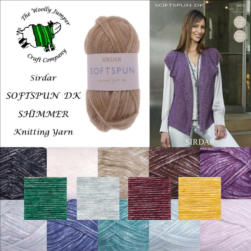 Sirdar Knitting Pattern Help : 1/2 PRICE - SIRDAR SOFTSPUN DK KNITTING YARN PLUS PATTERN ...