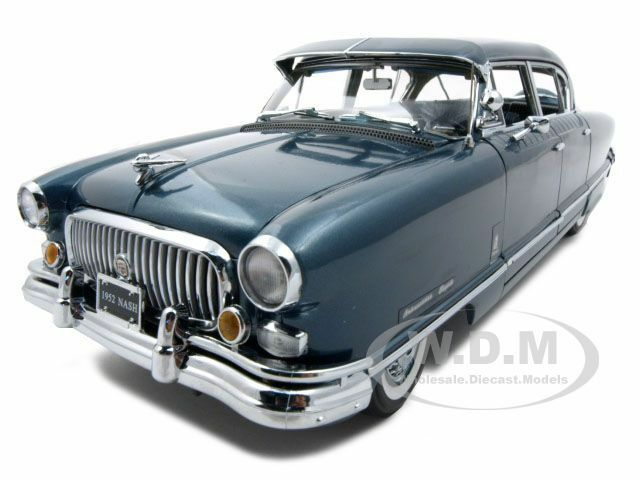 1952 Nash Ambassador Airflyte With Kit Blue 1 18 Model By