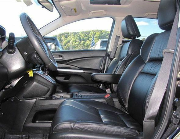 2012 2013 honda crv cr v lx ex leather interior seat covers black ebay. Black Bedroom Furniture Sets. Home Design Ideas
