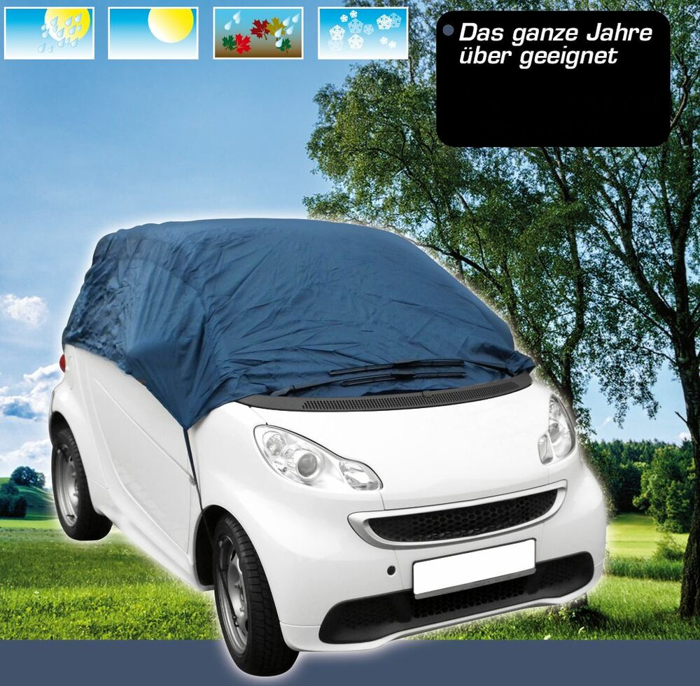 winter garage halbgarage sommer smart fortwo abdeckung plane 450 451 xs ebay. Black Bedroom Furniture Sets. Home Design Ideas