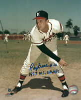 Milwaukee Braves Pitcher RAY CRONE Signed 8x10 Photo #2 AUTO w/ 1957 WS CHAMPS