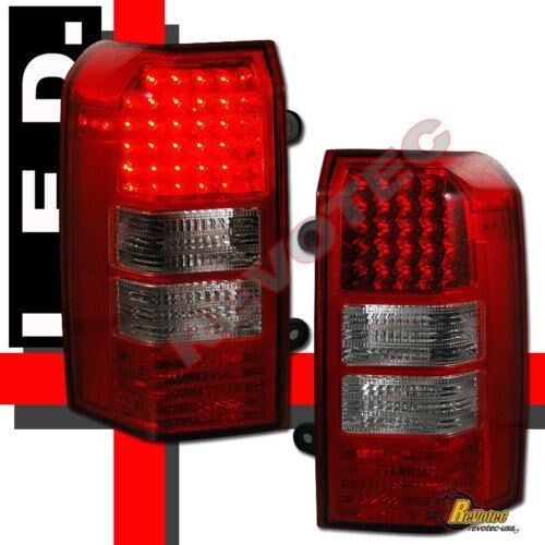 07 08 09 10 11 Jeep Patriot LED Tail Lights Plug & Play