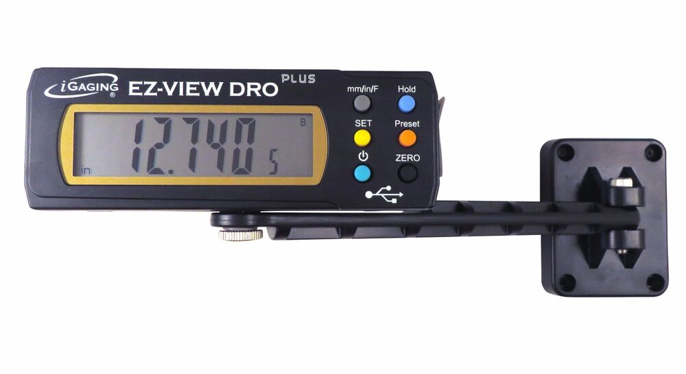 Digital Indicators With Remote Read : Quot digital readout dro w remote lcd fits kreg woodpecker