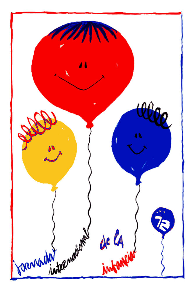 2262 children 39 s day quality poster baby balloons room home for 11x14 paper size
