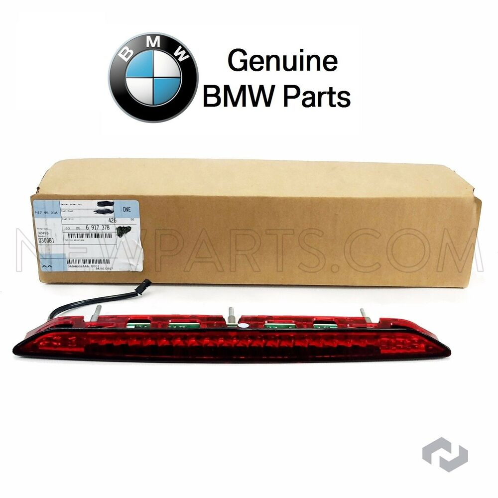 Bmw E85 Z4 Third Brake Light W Red Lens Genuine Ebay