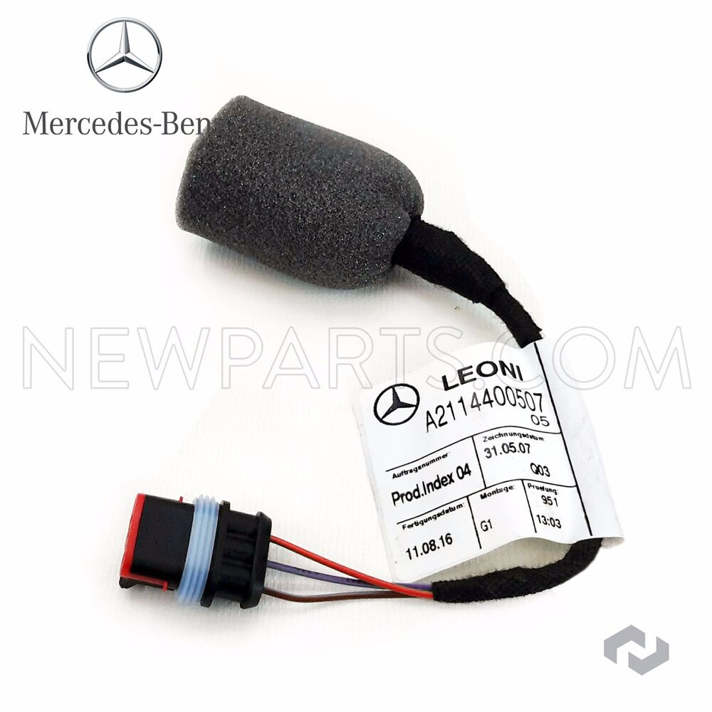 For Mercedes W203 W209 W211 W219 CLS500 Fuel Tank Sender Wiring Harness  GENUINE | eBay