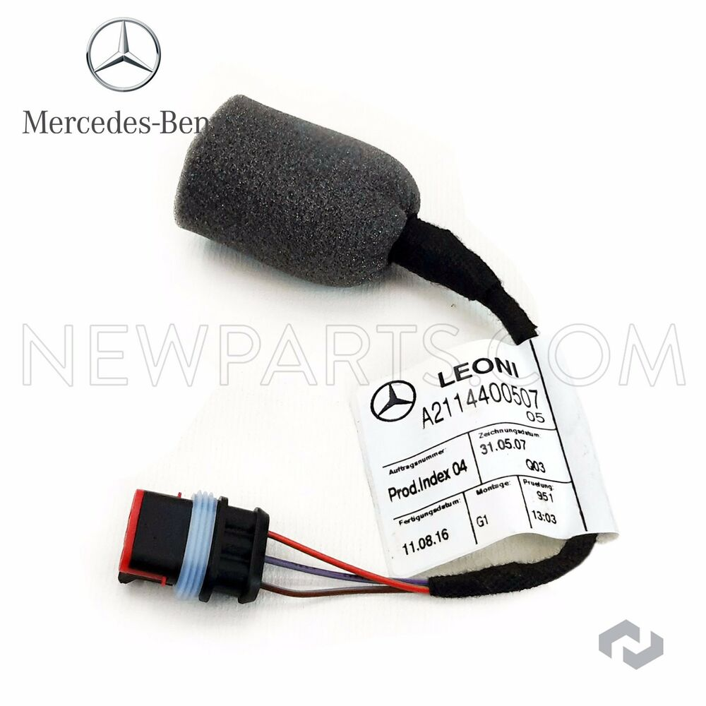 New Mercedes W203 W209 W211 W219 Cls500 Fuel Tank Sender Wiring Harness Genuine