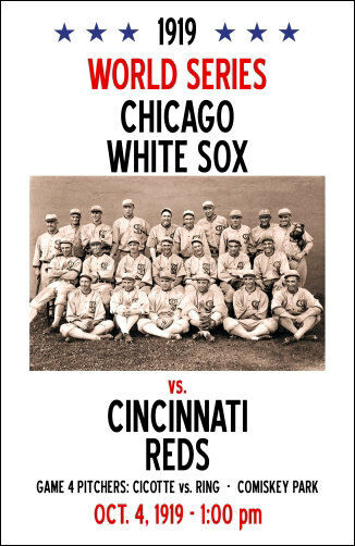 1919 world series The 1919 world series: what really happened one of baseball's infamous events is the 1919 world series between the chicago white sox and the cincinnati reds overshadowed by the suspicion cast upon, and the subsequent indictment of, eight white sox players for throwing the games, the 1919 world series has often been simplistically and.