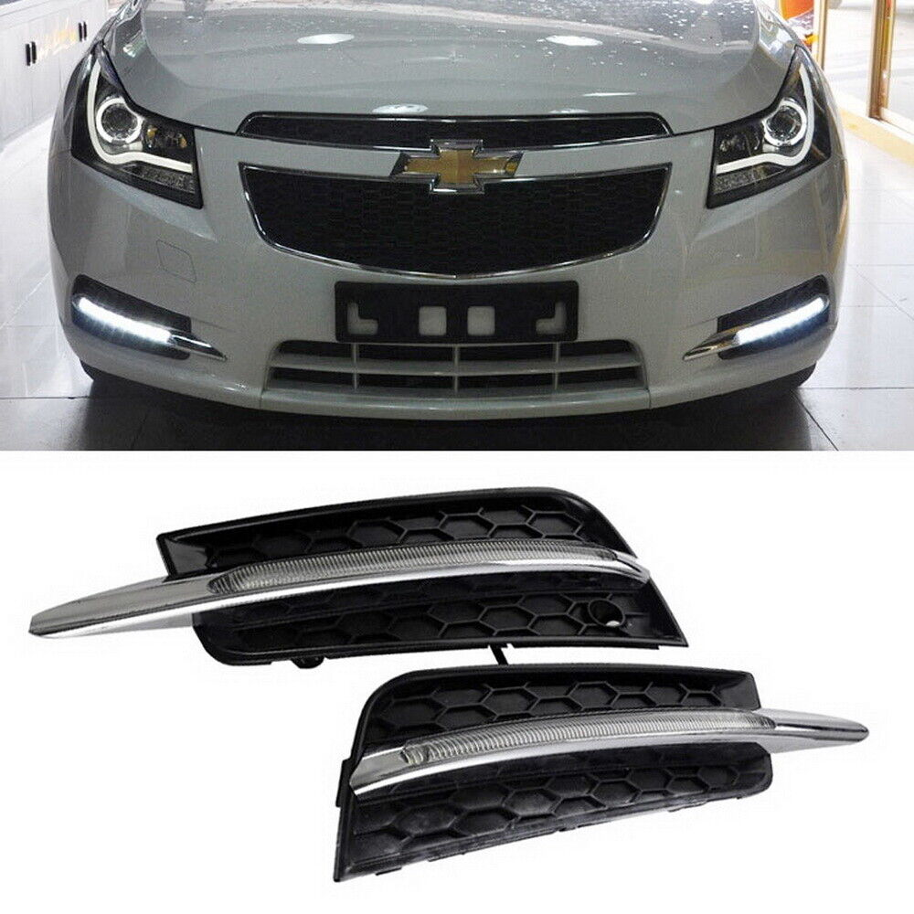 10w switchback led fog daytime running light lamps for. Black Bedroom Furniture Sets. Home Design Ideas