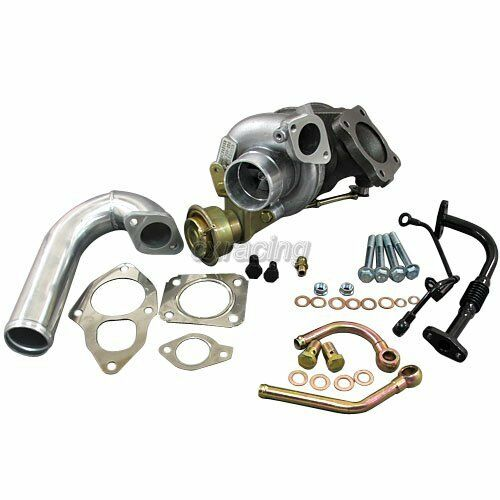 Supercharged Mustang Surging: TD05 BIG 20G Turbo Charger Banjo J Pipe For 89-94 1G