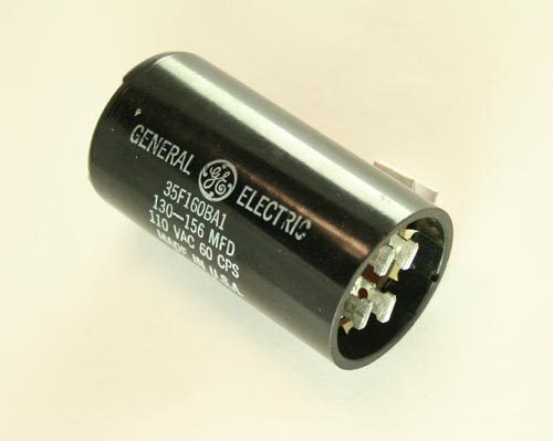 2x 130uf 110vac motor start capacitor 110v ac 130mfd 110 for How to test a motor start capacitor