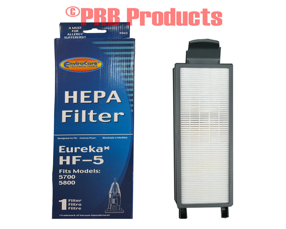 Eureka Style Hf 5 Hepa Allergy Filter 61830 Upright Vacuum