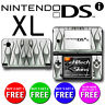 USA MADE Skin (Graphic Decal) to fit - Nintendo DSi XL - SILVER FLAMES