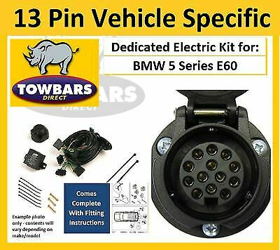 s l1000 towbar 13 pin wiring kit bmw 5 series e60 e61 03\u003e10 vehicle bmw e60 towbar wiring diagram at sewacar.co