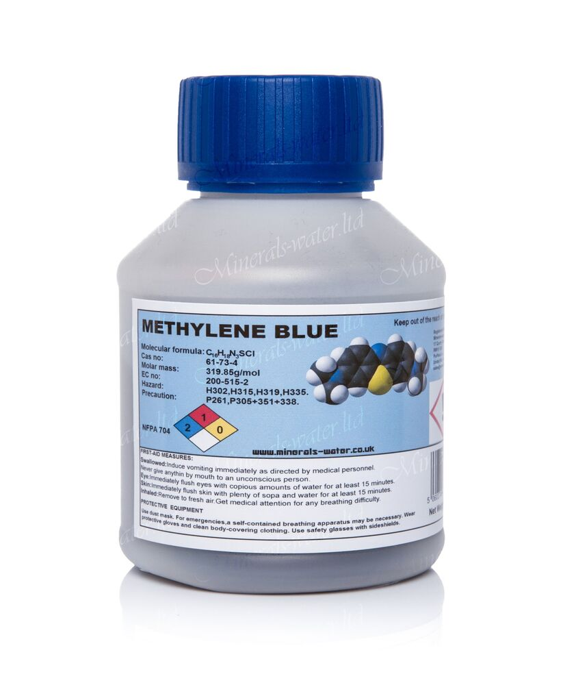 100g methylene blue crystals granules purest quality for Methylene blue for fish