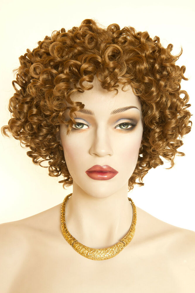 Strawberry Blonde Red Short Curly Wigs Ebay