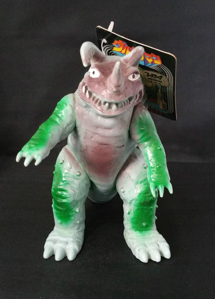 1989 Vintage Neronga Kaiju Bandai Ultraman Monster Anime