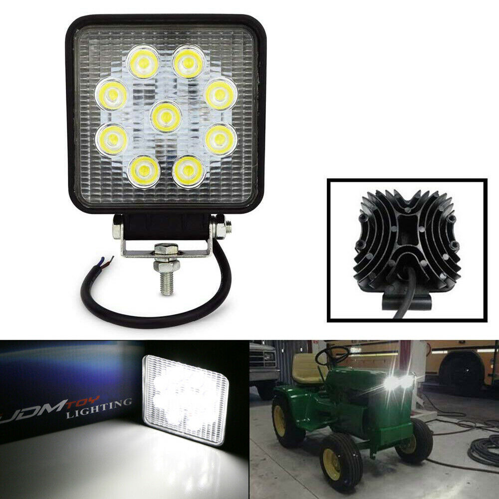 Farm Tractor Lamp : One w lum high power led work light lamp for suv