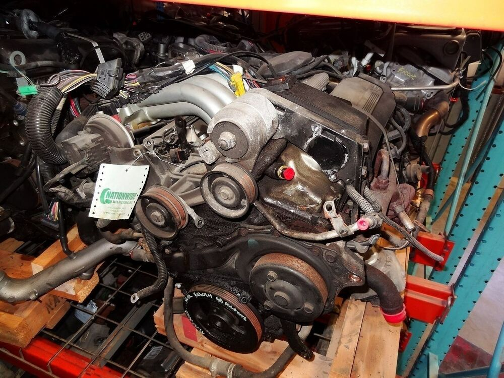 Engine 1988 Cadillac Allante With 85 000 Miles 4 1l Motor