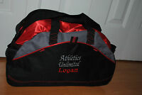 Personalzed Duffel Bag 3 Line Embroidered Gymnastice Basketball Dance Cheer Gym