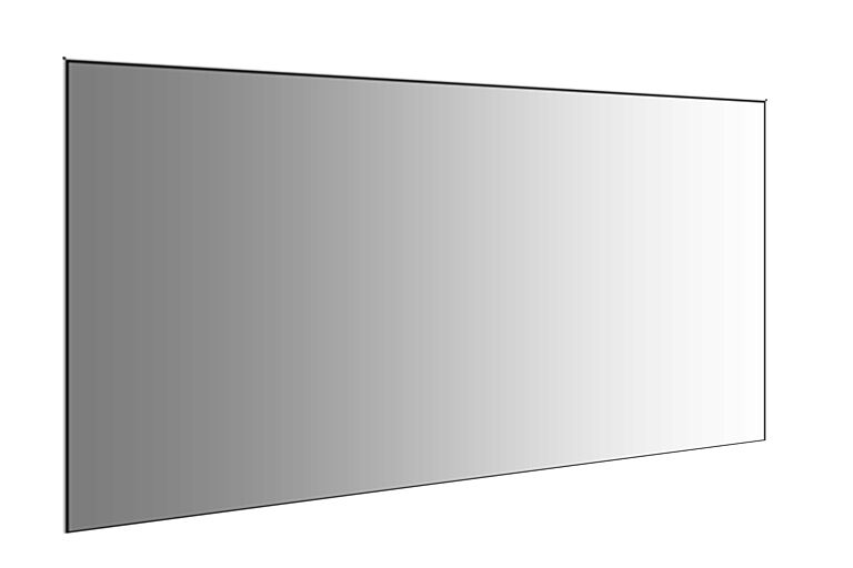 Large mirrors diamond polished edges 8ft 7ft 6ft 5ft for Big mirrors for sale