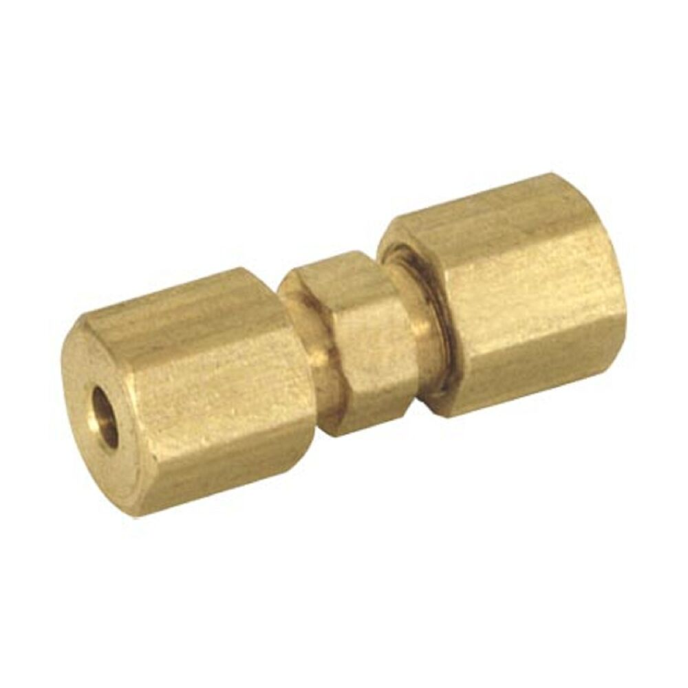 Quot od compression union lead free coupling brass