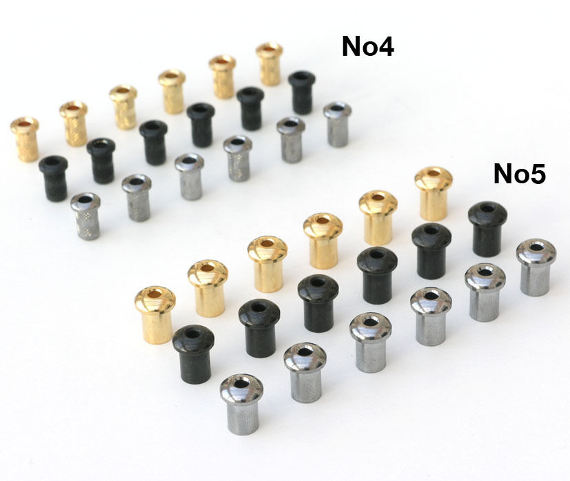 6 x guitar string top mouting ferrules sf4 sf5 ebay. Black Bedroom Furniture Sets. Home Design Ideas