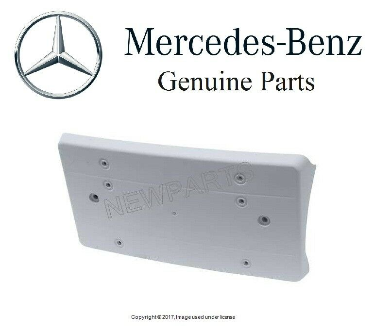 Mercedes w163 ml320 ml350 ml500 genuine front license for Mercedes benz front license plate frame