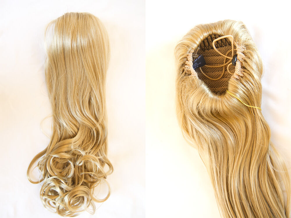 Premium Quality Hair Piece With Draw String and Straight ...