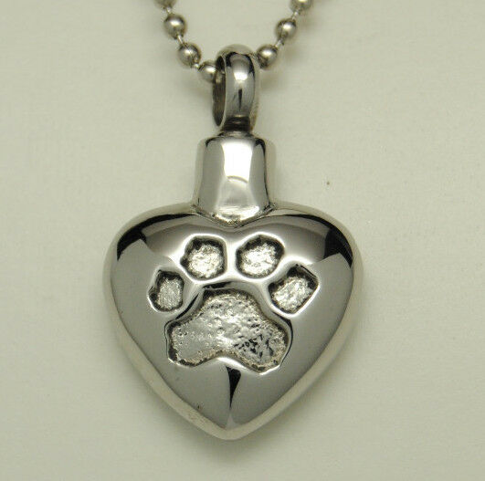 paw cremation jewelry paw cremation urn necklace paw urn