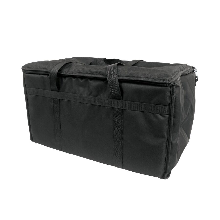 23 Quot X 13 Quot X 15 Quot Black Insulated Nylon Food Delivery Bag