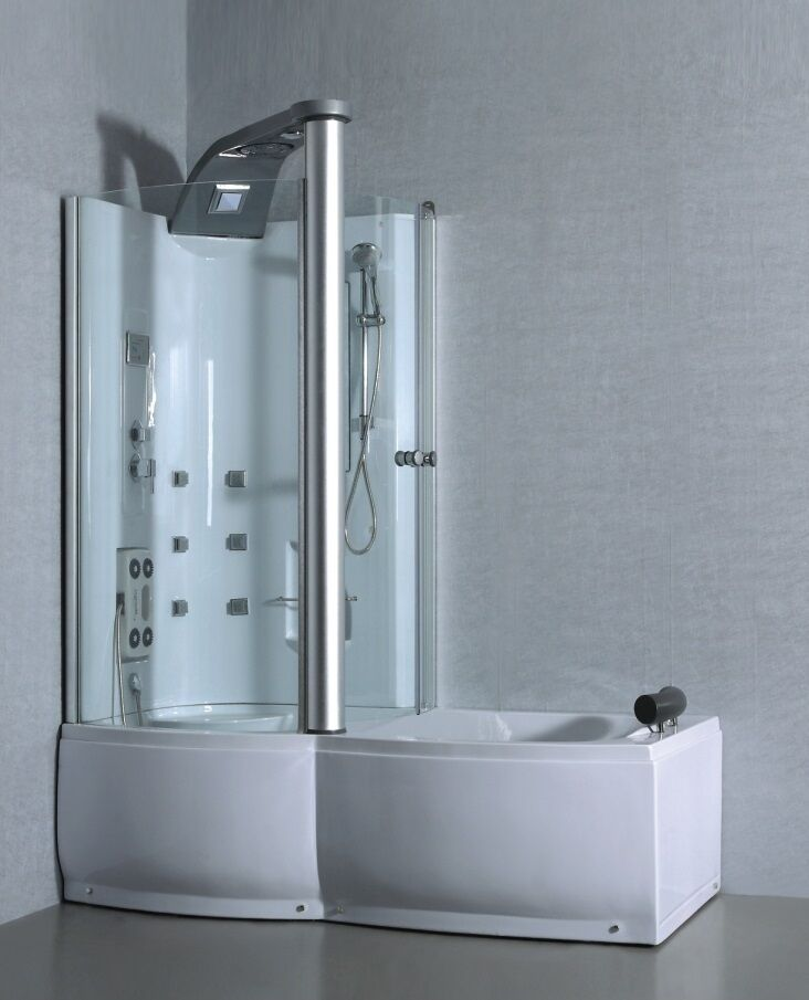 Bad douchecabine java bain douche cabine ebay for Cabine bain douche angle