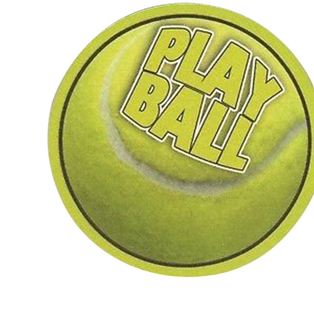 8 absorbent drink coasters play ball motif tennisball ebay - Drink coasters absorbent ...