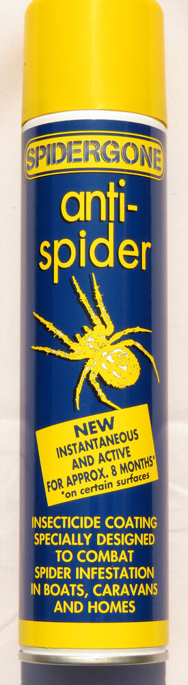 Spidergone amiral anti spider spray spider deterrent ebay for How to stop spiders entering your house