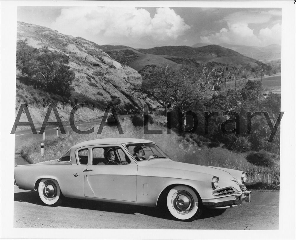 1953 studebaker commander starlight coupe factory photo - 1953 studebaker champion starlight coupe ...