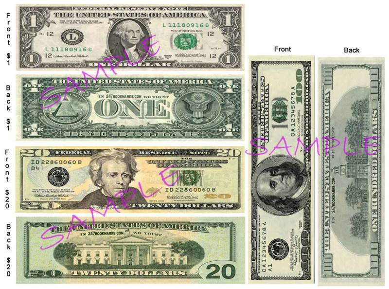 how to tell if a 20 bill is fake
