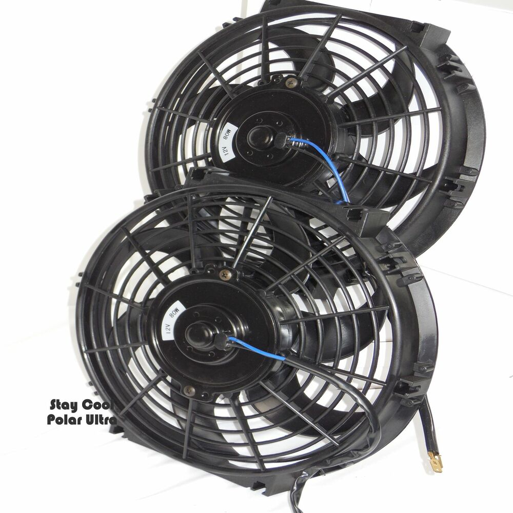 chevy radiator fans dual 14 relay wiring kit 1750 cfm 39 s. Black Bedroom Furniture Sets. Home Design Ideas