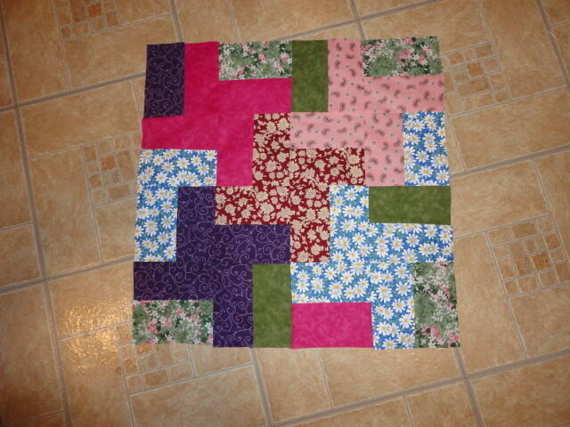 How To Use Plastic Quilting Templates : Plastic Template - Puzzle Play quilt - Great fun! eBay