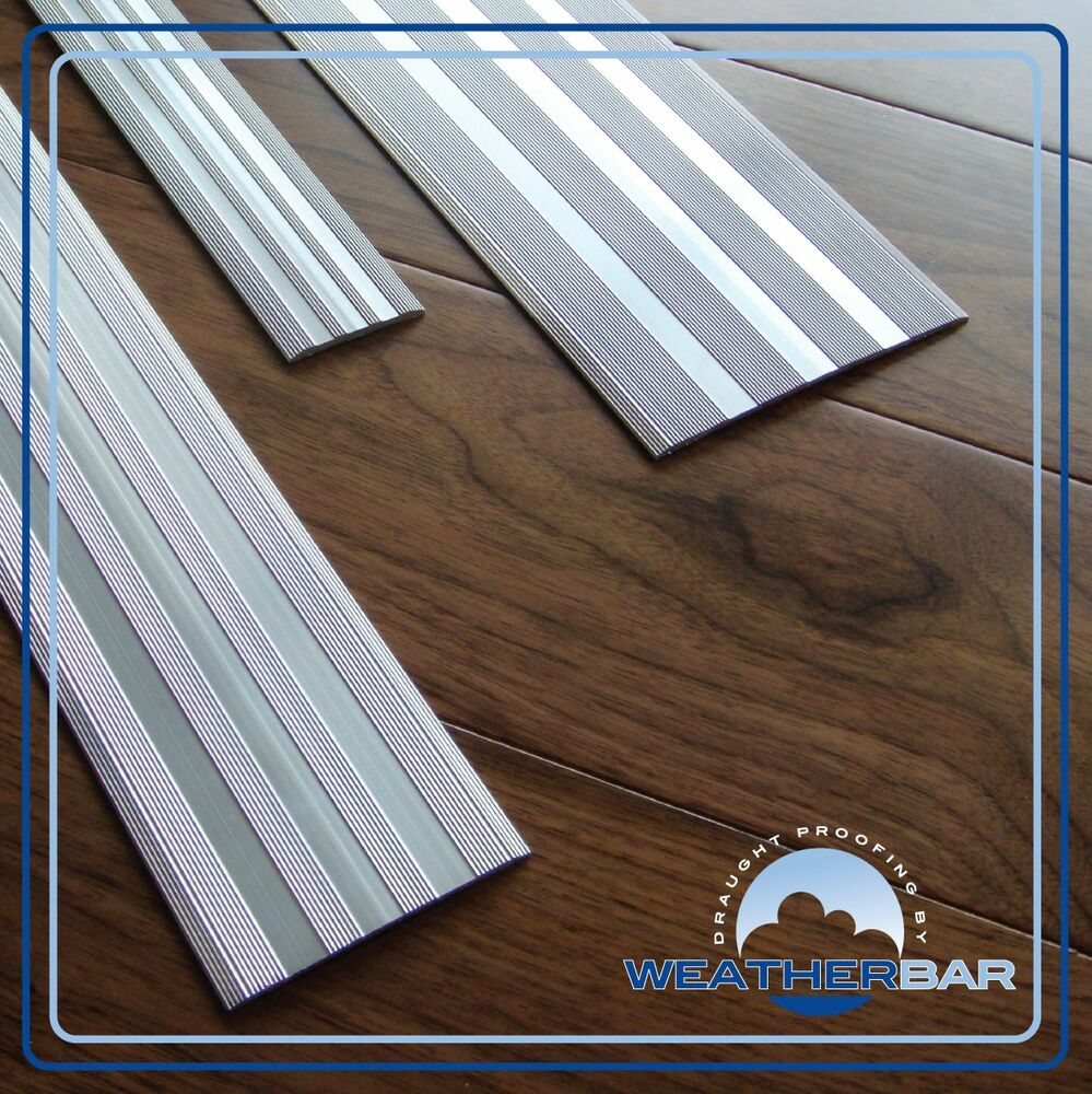 Coverplate aluminium door bars threshold strip for Floor profile