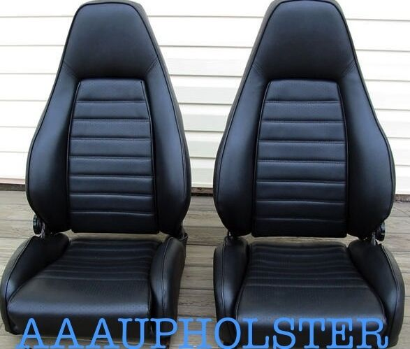 porsche 924s 944 sport seats option new upholstery covers kit fits 1980 1985 ebay. Black Bedroom Furniture Sets. Home Design Ideas