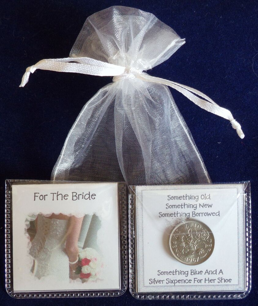 Wedding Night Gift For Bride: LUCKY SIXPENCE FOR THE BRIDE WEDDING HEN NIGHT GIFT